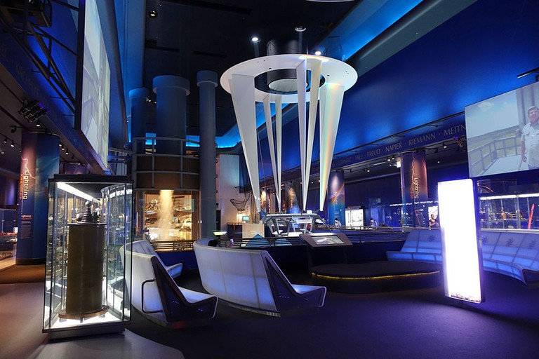 Interior view - Museum of Science and Industry, Chicago