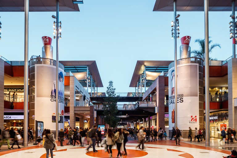 Located on the outskirts of Barcelona, La Maquinista is the largest of Barcelona's shopping centers