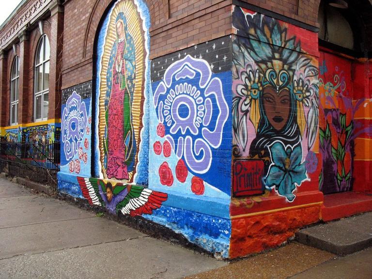 Street art in Pilsen, courtesy of Flickr: David Hilowitz