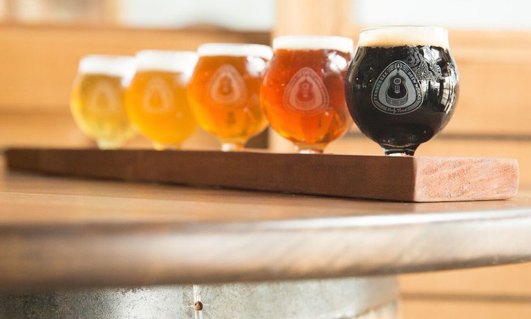 Tennessee Brew Works is known both for its craft beers and its uniquely eco-friendly brewing process © Courtesy of Tennessee Brew Works