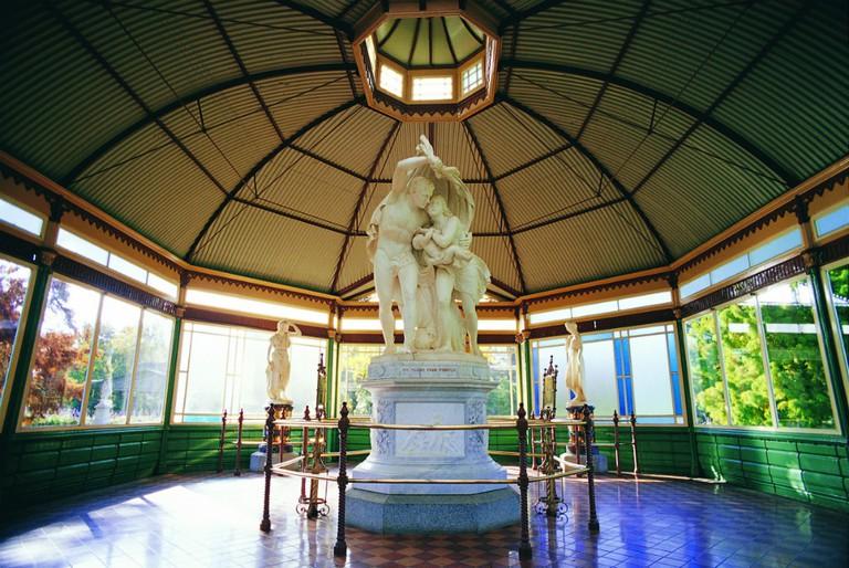 Statuary Pavilion - Ballarat Botanical Gardens | Courtesy of Visions of Victoria