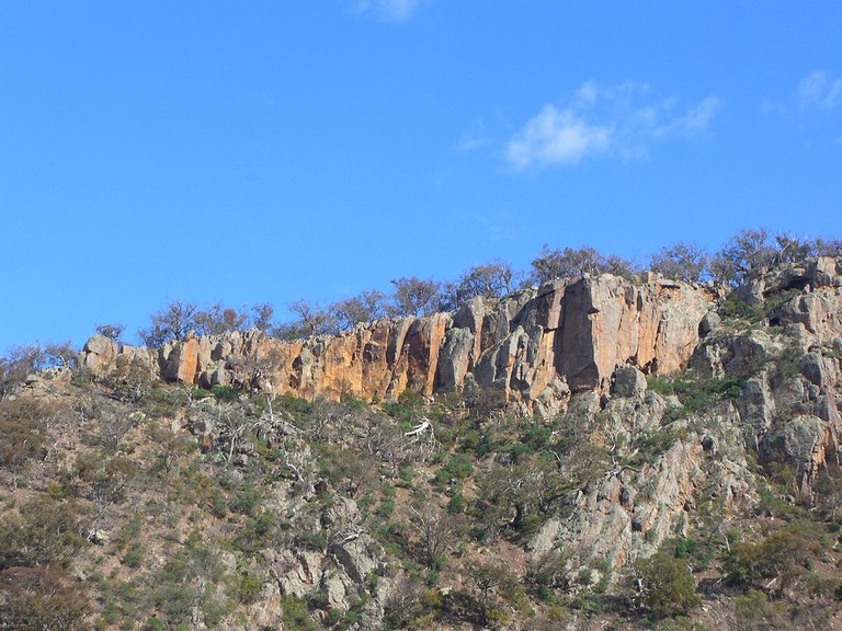 Rock Climbers on Falcons Lookout - Werribee Gorge © Alpha/Fickr