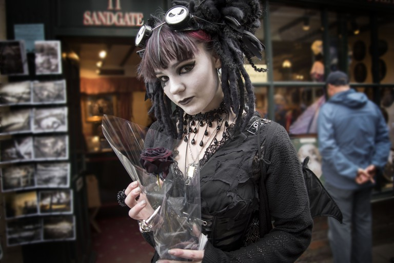 Goth girl | © Bryan Ledgard/Flickr