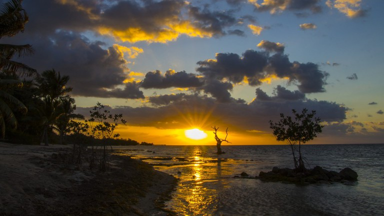 The Florida Keys offer beautiful sights, such as this majestic sunset   Courtesy of Thomas/Flickr