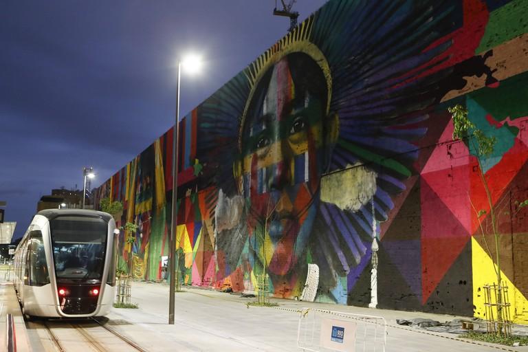 Mural by Eduardo Kobra  © Agência Brasil Fotografias/Flickr