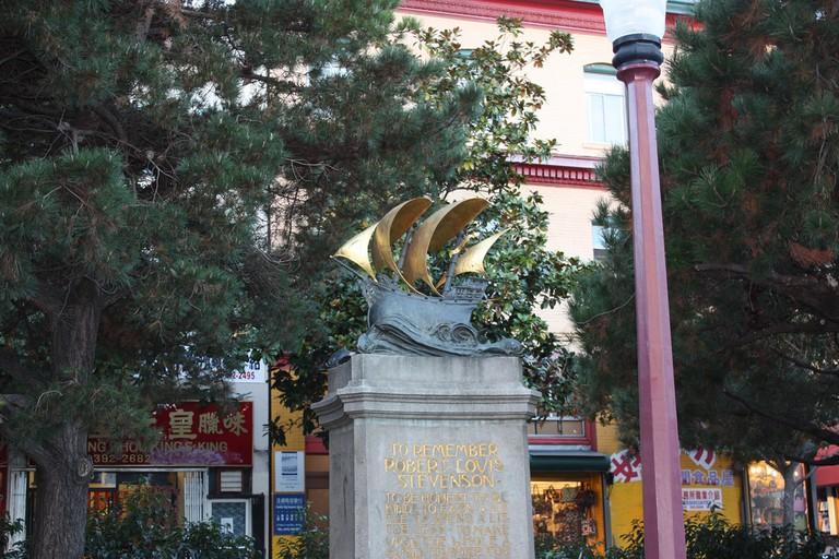Robert Louis Stevenson Monument © Chris/Flickr