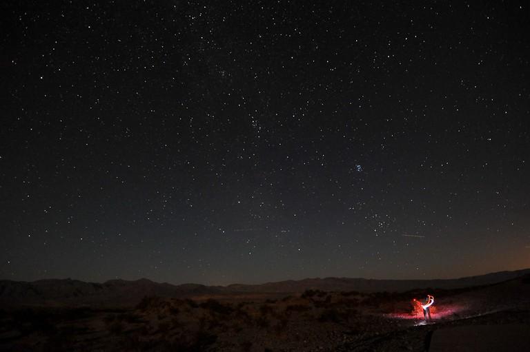 Night sky near Mesquite Dunes, Death Valley National Park | © John Buie/Flickr
