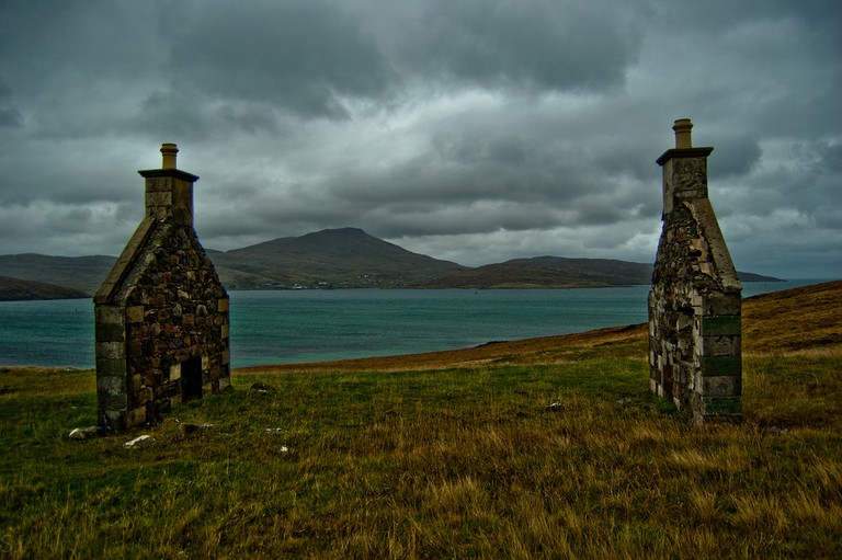 Unfinished Settlement On Barra | © Szczepan Janus/Flickr