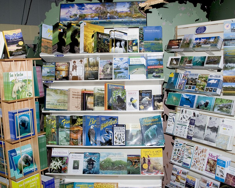 The Locals-Only Gulf Coast Bookstore in Ft Myers focuses on displaying and selling the books of local authors   Courtesy of Everglades NPA/flickr