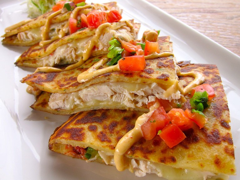 Chicken Boxty Quesadilla