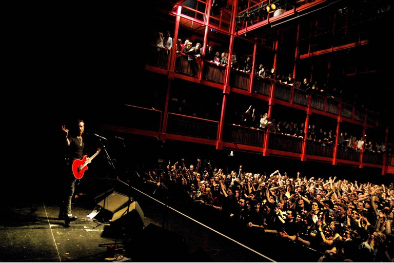Eagles of Death Metal in the Main Hall of 'de AB'
