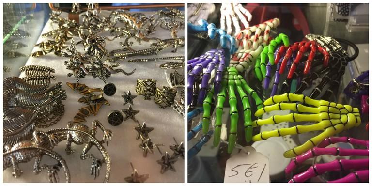 Halloween accessories at Black Sugar