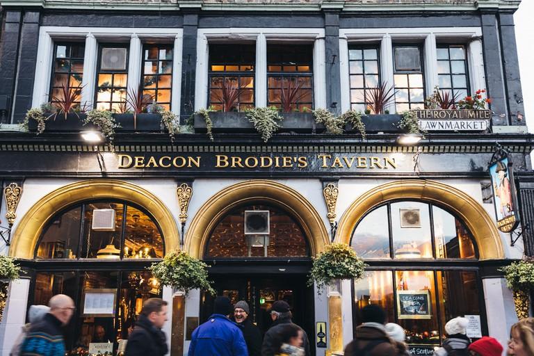 Deacon Brodies Tavern, Edinburgh