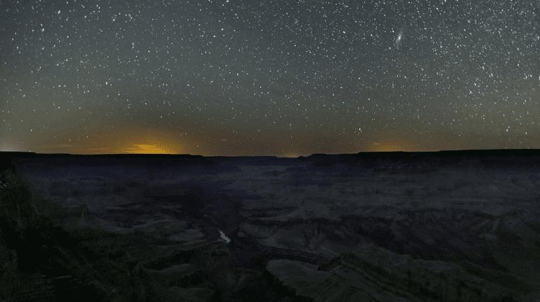 Stars over the Grand Canyon | Public Domain/Good Free Photos