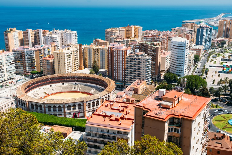 La Malagueta Plaza de Toros, Malaga / Shutterstock