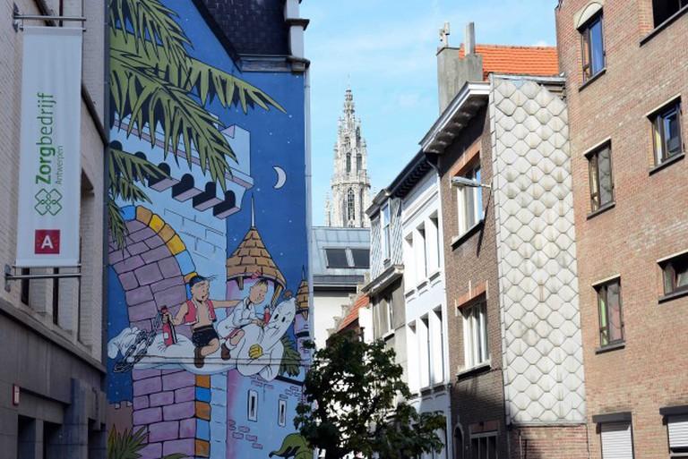 Suske en Wiske _ © Jan Crab_courtesy of Visit Antwerp