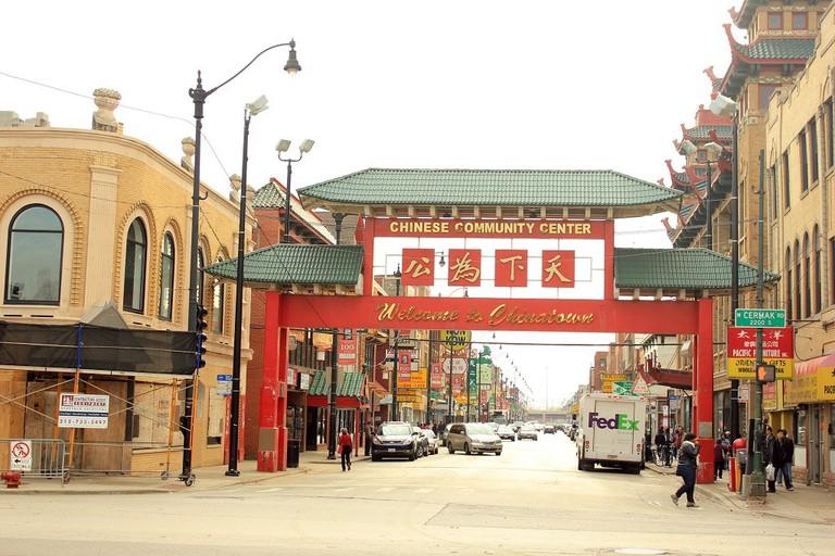 Chinatown, courtesy of Wikimedia Commons