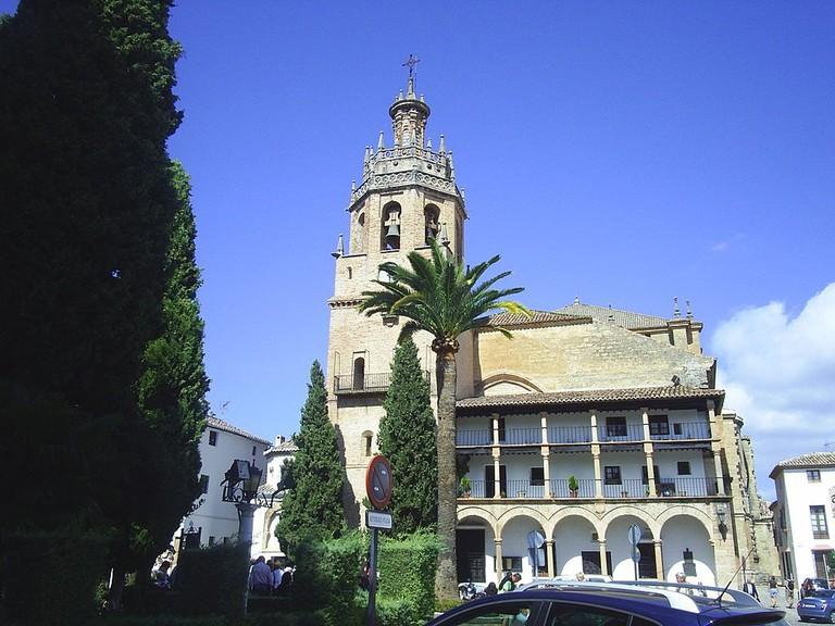 Iglesia Santa Maria la Mayor, Ronda | ©Wwal via Wikimedia Commons