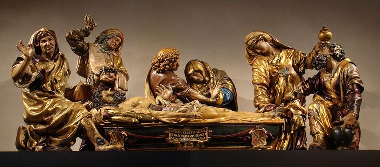 Santo Entierro ('Holy Burial') by sculptor Juan de Juni at the Museo Nacional de Escultura de Valladolid, Spain | © Nicolás Pérez/WikiCommons