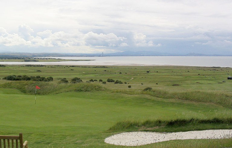 View Of Edinburgh From Gullane Number 1 Golf Course | © WikiCommons
