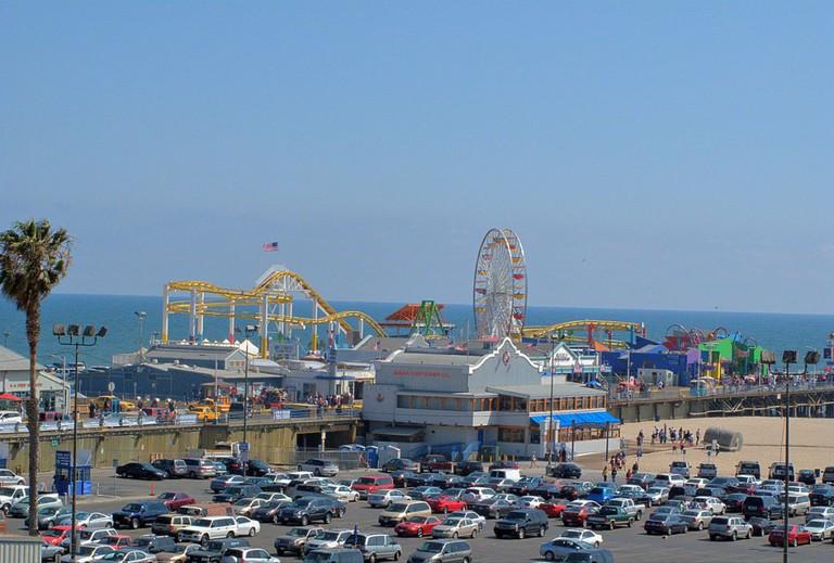 Santa Monica Pier © Downtowngal/Wikipedia