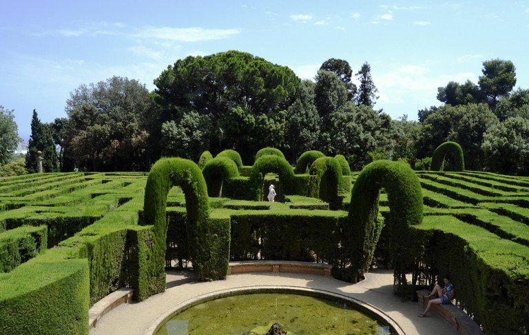 The Horta Labyrinth | © Sofia Barrera