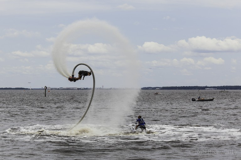 Flyboarding | © Rob Bixby