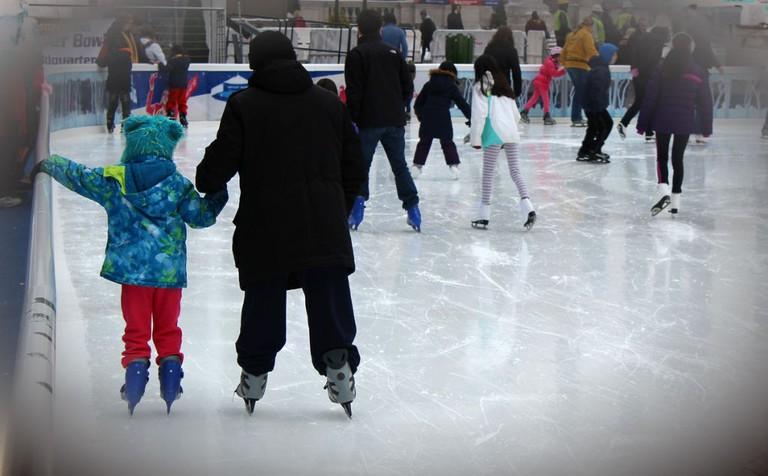 Ice Skating | © nasir khan/Flickr