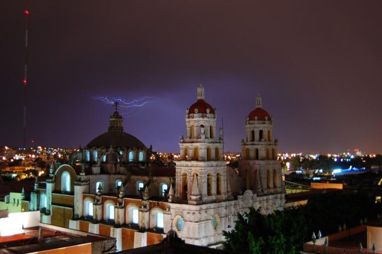 Puebla at night   © Russ Bowling/Flickr