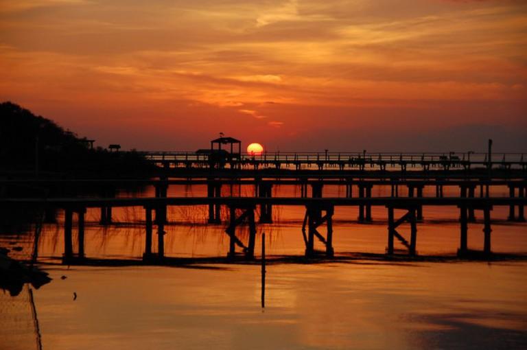 Rockport, TX Sunset © Vincent Lock/Flickr