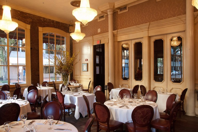 August, Chef John Besh's fine dining eatery in New Orleans' Central Business District