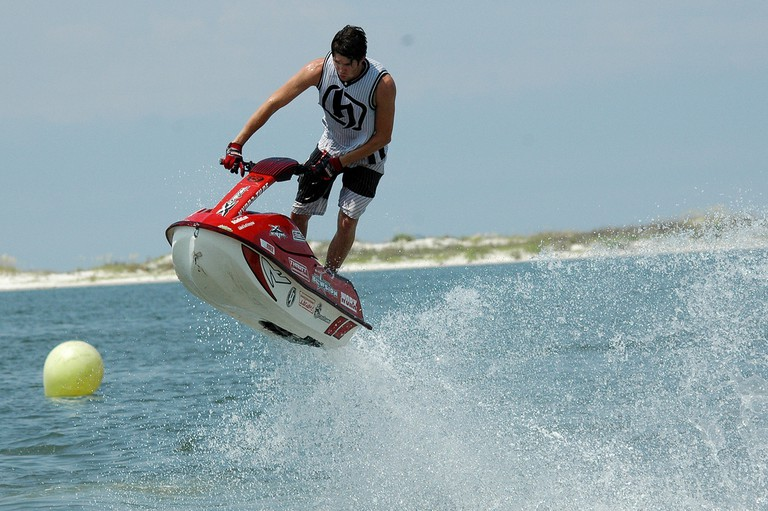 Fun on a jet-ski | © Michael McCarthy