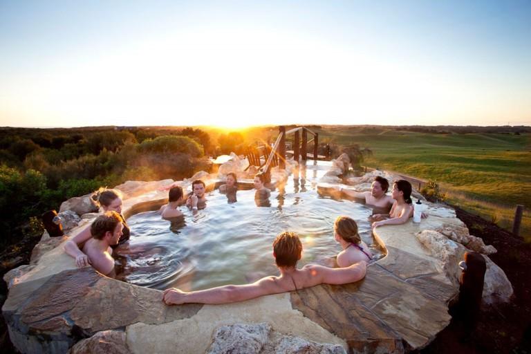 Courtesy Peninsula Hot Springs