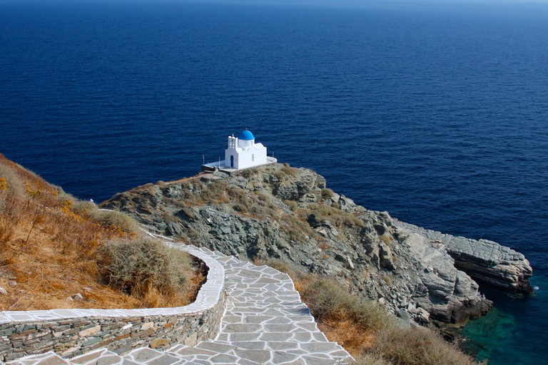 Church of Seven Martyrs, Sifnos