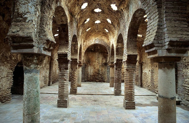 Arabic Baths, Ronda | ©AndreasTille via Wikimedia Commons