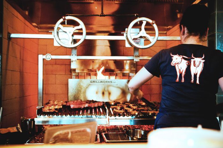 Chef Gabi Grilling