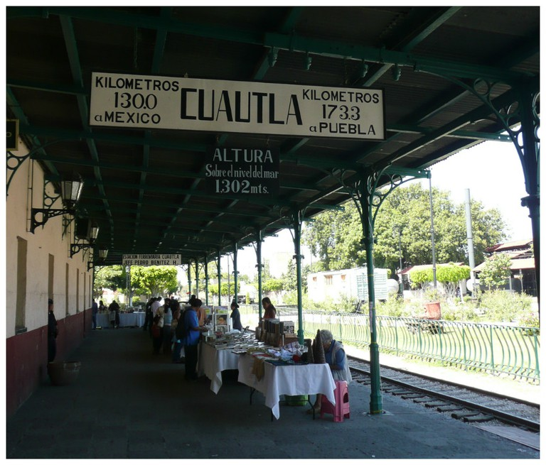 Cuautla's Railway Station   © Randal Sheppard/Flickr
