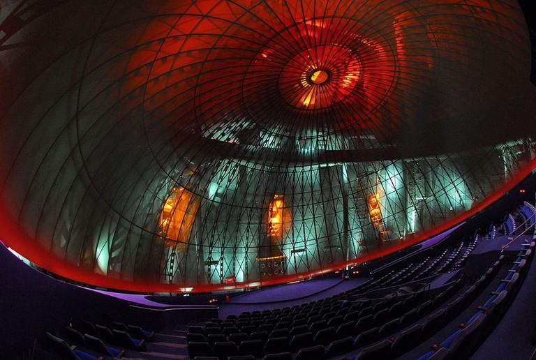Interior of Eugenides Foundation planetarium | ©Eugenides Foundation/WikiCommons
