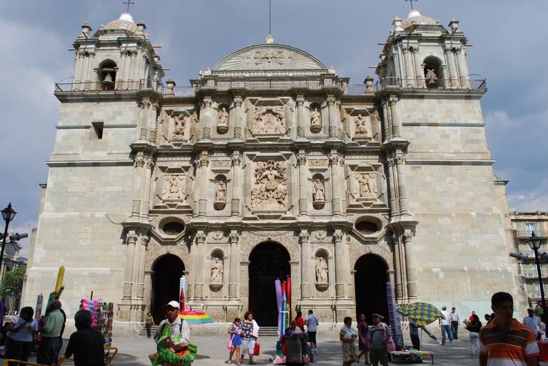 Catedral de Oaxaca | © Thelmadatter/WikiCommons