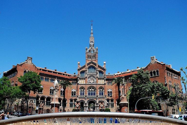 Hospital de la Santa Creu i Sant Pau | ©PaulHermans via Wikimedia Commons