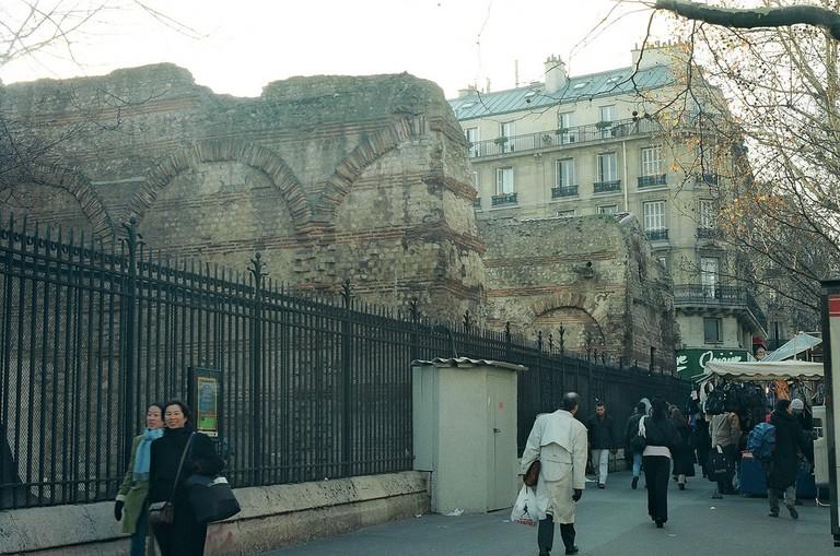 Les Thermes De Cluny on the Boulevard Saint-Germain