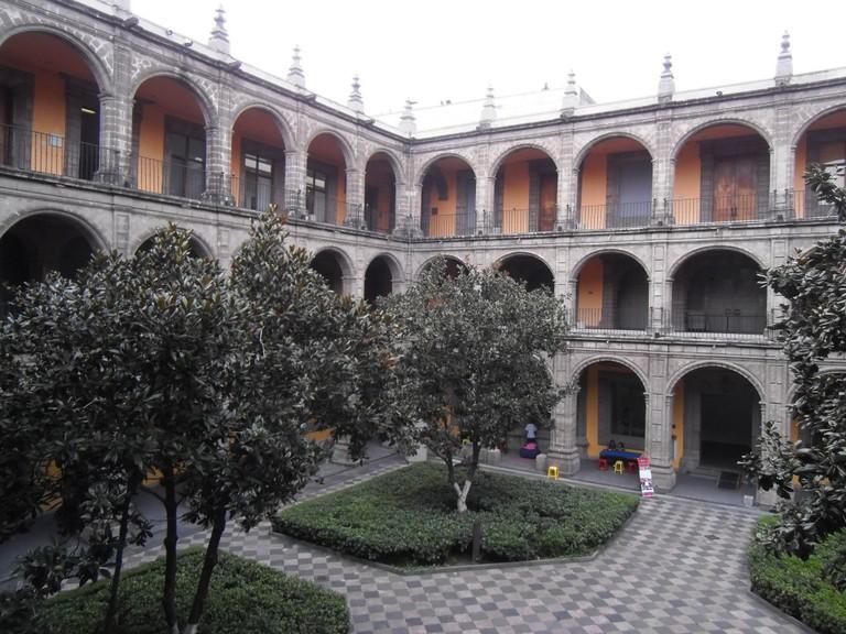 Colegio de San Ildefonso   © Patricia Alzuarte Díaz/WikiCommons