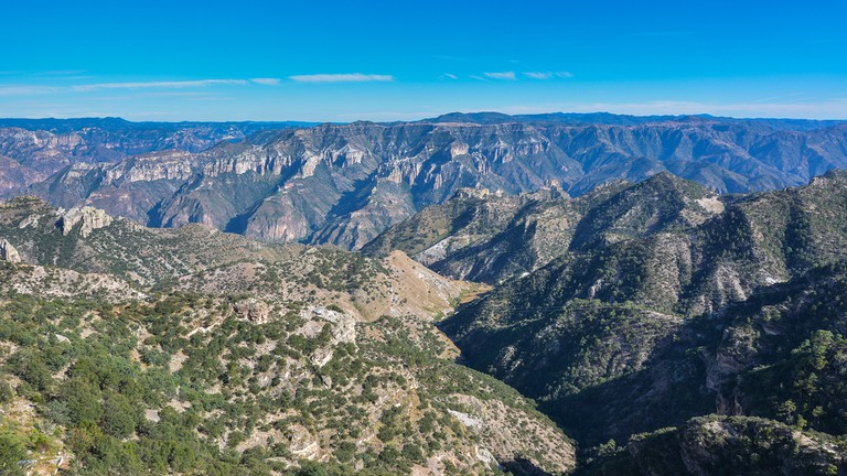 Copper Canyon - Sierra Madre Occidental, Chihuahua, Mexico © Jejim / Shutterstock