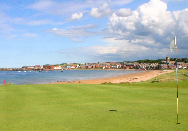 Founded in 1832, the North Berwick Golf Club in East Lothian is an exquisite sight for sore eyes © Courtesy of North Berwick Golf Club