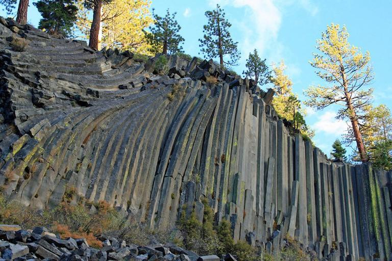Devils Postpile National Monument © Frank Kovalchek/Wikipedia