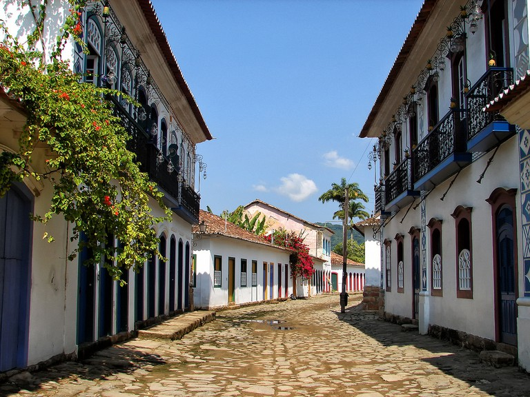 The streets of Paraty