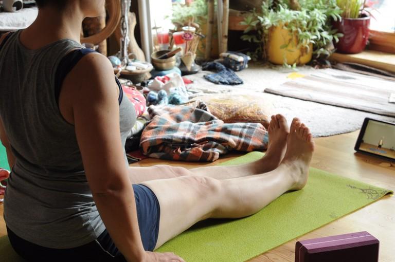 Yoga practice   © distilfliege/Flickr