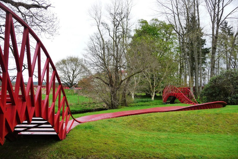 The Garden Of Cosmic Speculation   © John Lord/Flickr