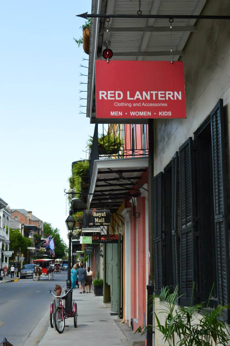 Red Lantern store in the French Quarter