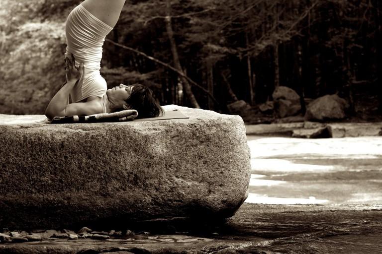 Outdoor yoga   © Matthew Ragan/Flickr